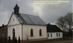 Kaplica ewangelicka z pastorówką w Karolewie