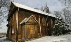Modrzewiowy kościół pw. św. Jana Chrzciciela w Rembertowie