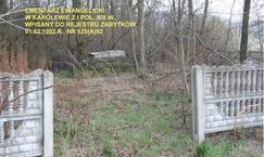 Cmentarz ewangelicki w Karolewie